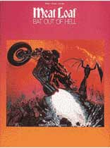 Meat Loaf - Meat Loaf - Bat Out of Hell - Music Book