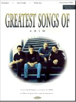 Greatest Songs of 4him - Music Book