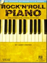 Andy Vinter - Rock'N'Roll Piano - Music Book
