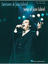 Juan Gabriel - Songs of Juan Gabriel - Music Book