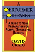 David Craig - A Performer Prepares - Music Book