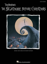Nightmare Before Christmas Sheet Music Collection