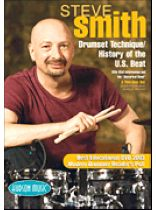 Steve Smith - Steve Smith - Drum Set Technique/History of the U.S. Beat - Music Book