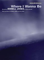 Donell Jones - Where I Wanna Be - Music Book