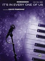 David Pomeranz - It's In Every One Of Us - Original Sheet Music Edition - Music Book