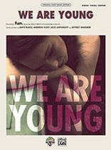 We Are Young - Original Sheet Music Edition - Music Book
