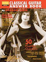 Sharon Isbin - Classical Guitar Answer Book - Music Book