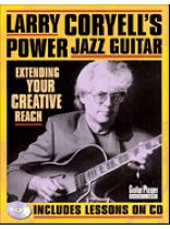 Larry Coryell - Larry Coryell's Power Jazz Guitar - Music Book