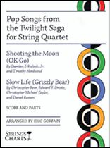Pop Songs from the Twilight Saga for String Quartet - Music Book
