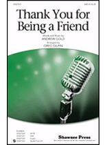 Andrew Gold - Thank You for Being a Friend - from the T.V. Series, The Golden Girls - Music Book