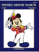 Jimmie Dodd - Mickey Mouse March - Easy Piano - Music Book