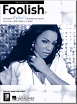 Ashanti - Foolish - Music Book