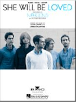 Maroon 5 - She Will Be Loved - Music Book