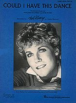 Anne Murray - Could I Have This Dance - Music Book