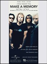 Bon Jovi - (You Want To) Make a Memory - Music Book