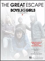Boys Like Girls - The Great Escape - Music Book