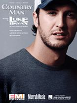 Luke Bryan - Country Man - Music Book