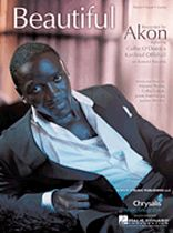 Akon - Beautiful - Music Book