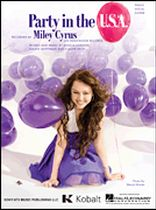 Miley Cyrus - Party in the U.S.A. - Music Book