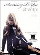 Orianthi - According To You - Music Book