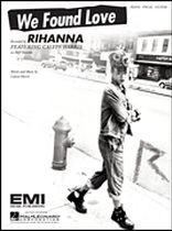 We Found Love - Music Book