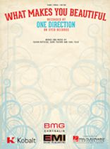 One Direction - What Makes You Beautiful - Music Book