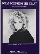 Bonnie Tyler - Total Eclipse of the Heart - Music Book