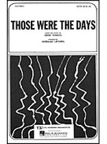 Gene Raskin - Those Were the Days - Music Book