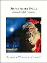 Jeff Simmons - Secret Agent Santa - Music Book