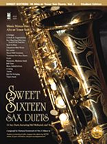 Hal McKusick - Sweet Sixteen Sax Duets - Music Minus One - Music Book