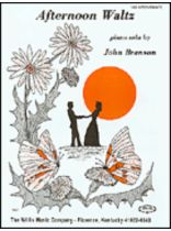 Branson - Afternoon Waltz - Music Book
