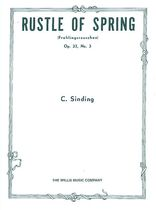 Rustle of Spring, Op. 32, No. 3 - Music Book