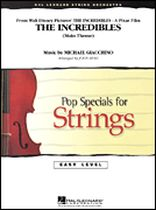 Michael Giacchino - The Incredibles - Strings - Music Book