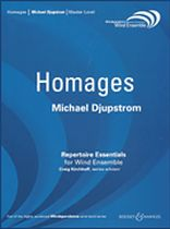 Michael Djupstrom - Homages - Music Book
