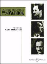 Marc Blitzstein - The Marc Blitzstein Songbook - Volume 1 - Music Book