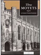 Charles Villiers Stanford - Three Motets, Op. 38 - Music Book