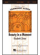 Elizabeth Ziman - Beauty In a Moment - Music Book