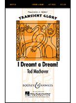 Tod Machover - I Dreamt a Dream - Music Book