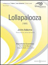 Lollapalooza - Score and Parts - Windependence Artist Level - Grade 5 - Music Book