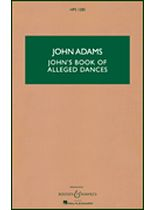 John Adams - John's Book of Alleged Dances - For String Quartet and Pre-Recorded Tape - Music Book