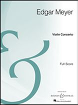 Edgar Meyer - Violin Concerto - Full Score Archive Edition - Music Book