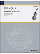 Jean Francaix - Rondino Staccato - Music Book