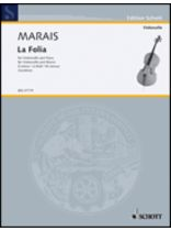 Marin Marais - Follia - Music Book