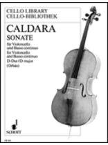 Antonio Caldara - Sonata D Major - Music Book
