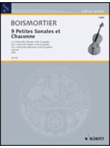 9 Little Sonatas and Chaconnes - Music Book