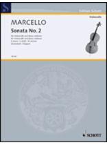 Benedetto Marcello - Sonata In E Minor - Music Book
