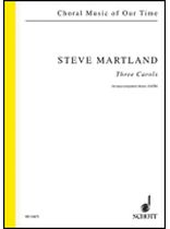 Steve Martland - 3 Carols - Music Book