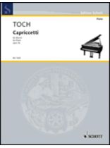 Ernst Toch - The Juggler Op. 31, No. 3 From Three Burlesques - Music Book