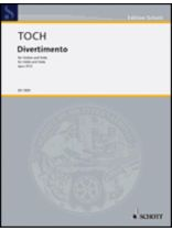 Ernst Toch - Divertimento Op. 37, No. 2 - Music Book