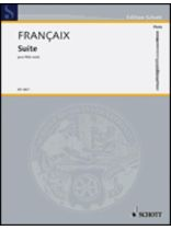 Jean Francaix - Suite - Music Book